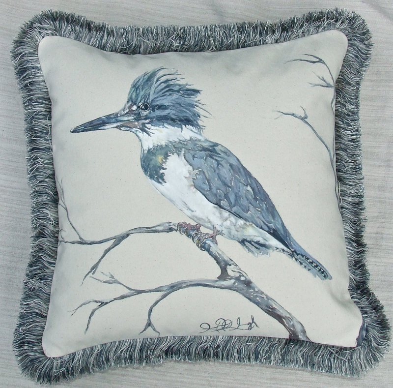 Belted Kingfisher Male16x16HHP