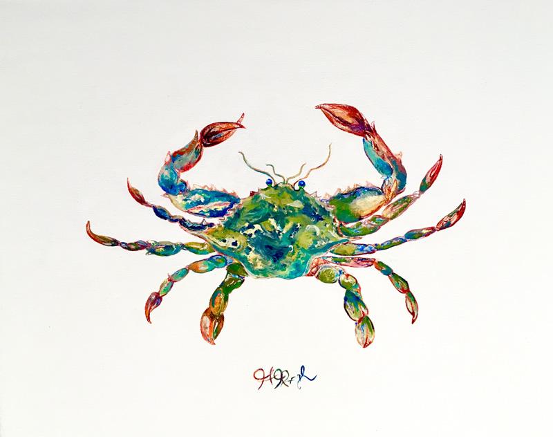 Blue Crab Cameo