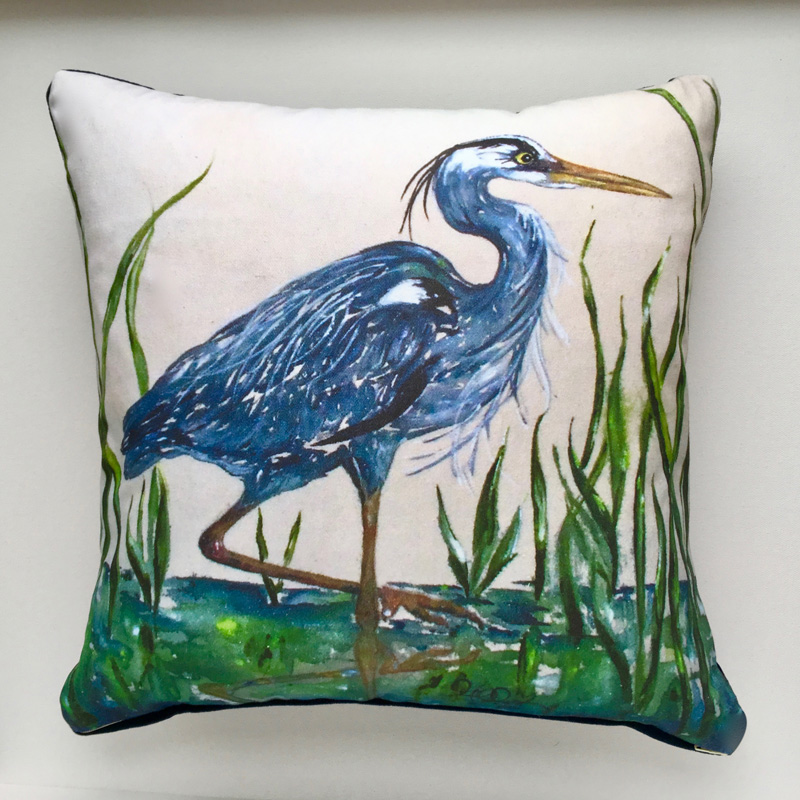 Handpainted Pillow Prints